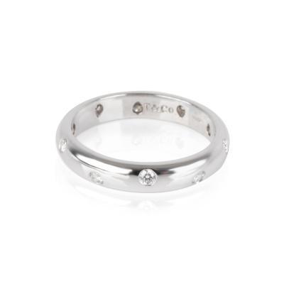 Tiffany Co Etiole Diamond Band in Platinum 0 22 ctw
