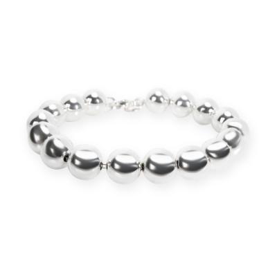 Tiffany Co Hardwear Ball Bracelet in Sterling Silver