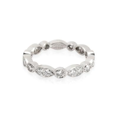Tiffany Co Jazz Diamond Eternity Band in Platinum 0 25 CTW