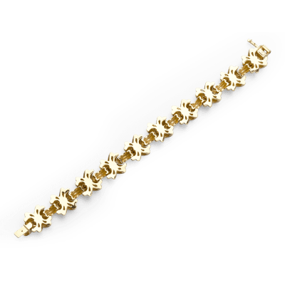 Tiffany Co Tiffany Gold Kisses Bracelet