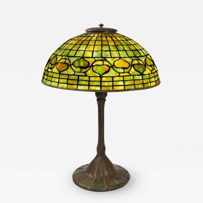Tiffany Studios Acorn Tiffany Lamp