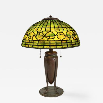 Tiffany Studios Acorn Tiffany Lamp