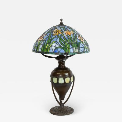 Tiffany Studios American Victorian Style Tiffany Table Lamp