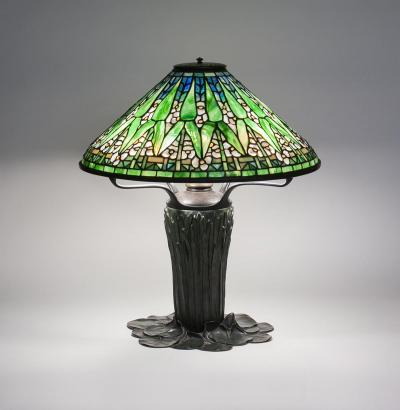 Tiffany Studios Arrowhead Table Lamp