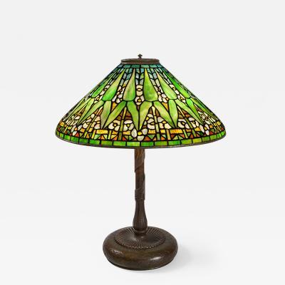Tiffany Studios Arrowroot Tiffany Lamp