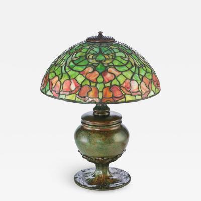 Tiffany Studios Bellflower Lamp