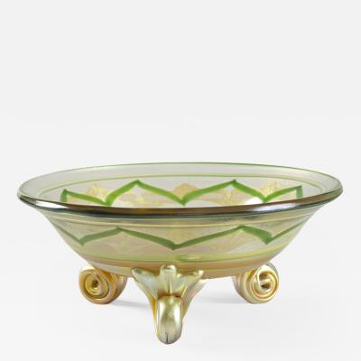 Tiffany Studios Byzantine Bowl by Louis Comfort Tiffany