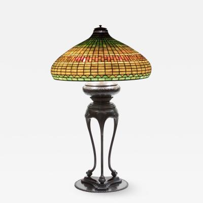 Tiffany Studios Chinese Table Lamp