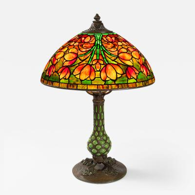 Tiffany Studios Crocus Tiffany Lamp