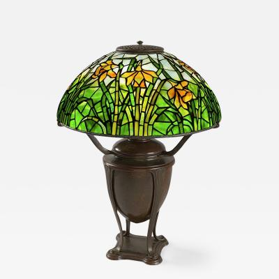 Tiffany Studios Daffodil Tiffany Lamp