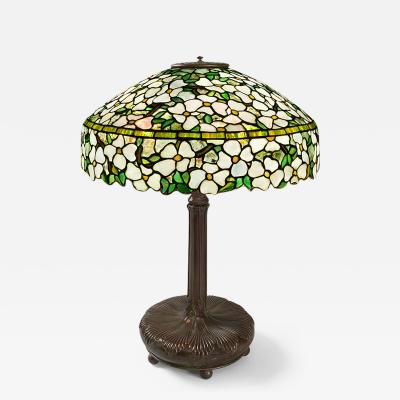 Tiffany Studios DogWood Tiffany Lamp