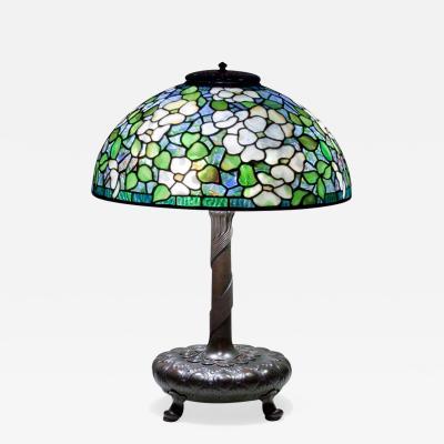 Tiffany Studios Dogwood Table Lamp