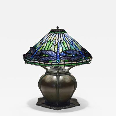 Tiffany Studios Early Dragonfly Table Lamp
