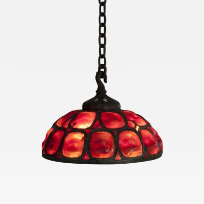 Tiffany Studios Early Turtle Back Hanging Shade