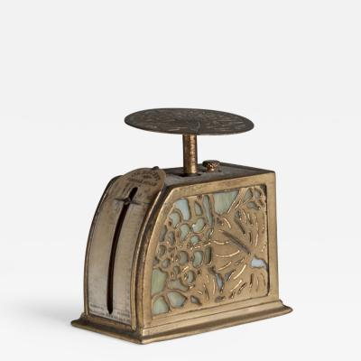 Tiffany Studios Etched Dor Grapevine Postage Scale