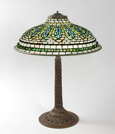 Tiffany Studios Gentian Tiffany Lamp