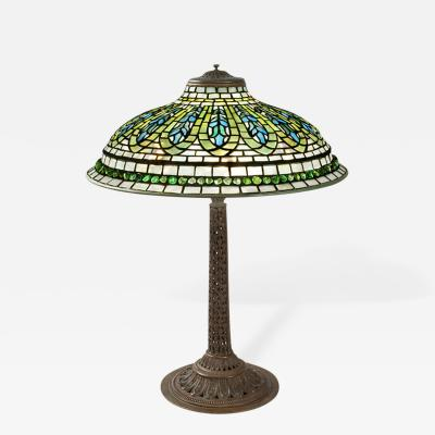 Tiffany Studios Gentian Tiffany Lamp