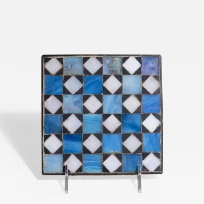 Tiffany Studios Geometric Favrile Glass Mosaic Trivet