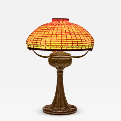 Tiffany Studios Geometric Tyler Variant Table Lamp
