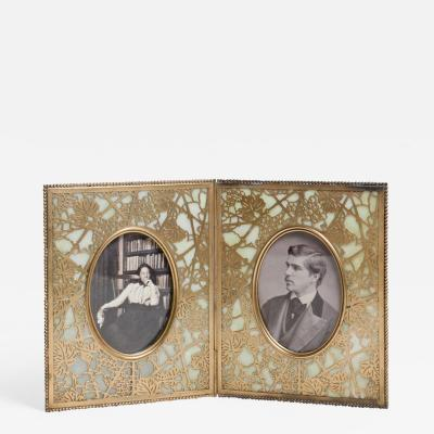 Tiffany Studios Grapevine Double Picture Frame