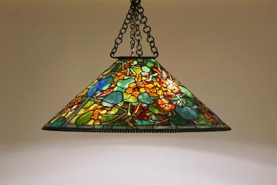 Tiffany Studios Hanging Nasturtium Shade