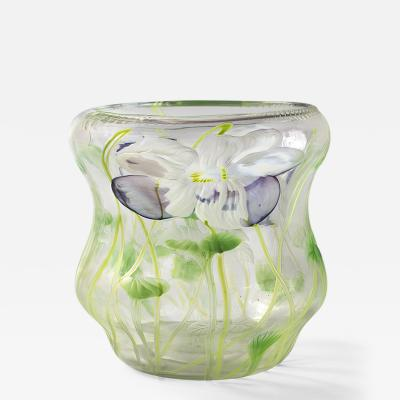 Tiffany Studios Intaglio Vase by Tiffany Studios New York