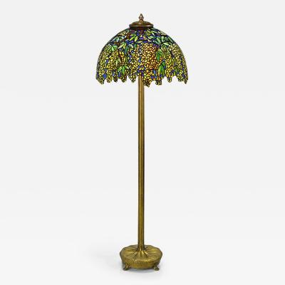 Tiffany Studios Laburnum Tiffany Floor Lamp