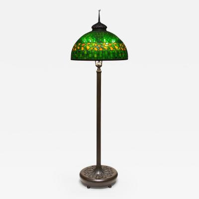Tiffany Studios Lemon Leaf Senior Floor Lamp