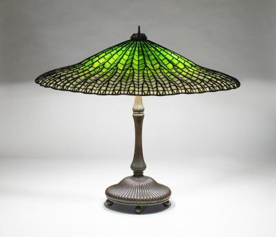 Tiffany Studios Lotus Table Lamp