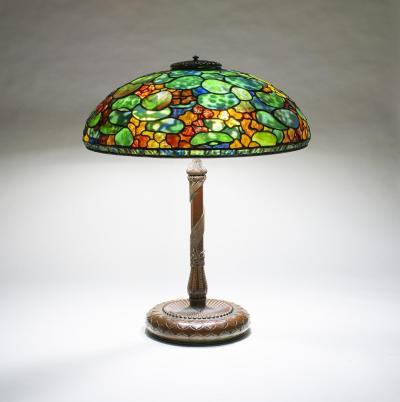 Tiffany Studios Nasturtium Table Lamp