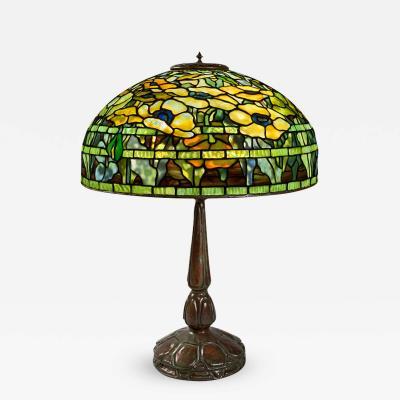 Tiffany Studios Oriental Poppy Tiffany Lamp