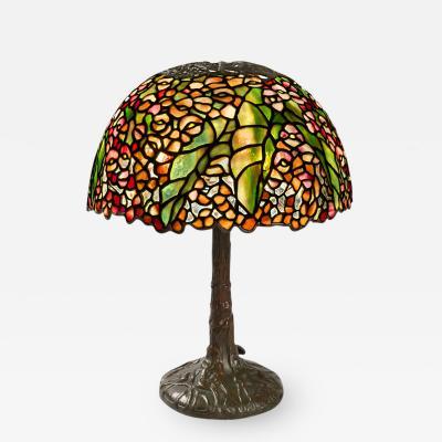 Tiffany Studios Pony Begonia Tiffany Lamp