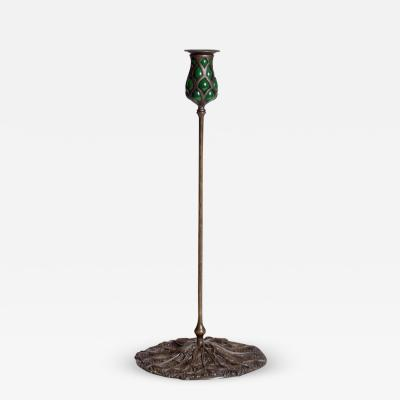 Tiffany Studios Queen Annes Lace Candlestick