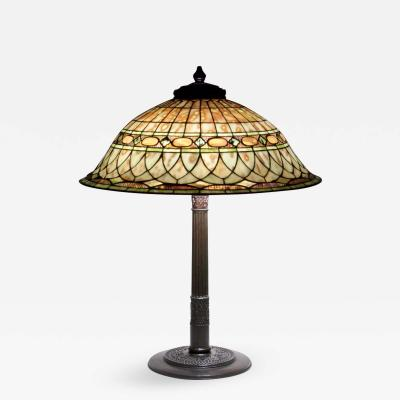 Tiffany Studios Roman Helmet Table Lamp
