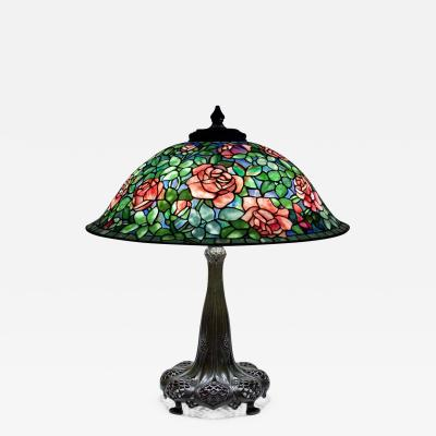 Tiffany Studios Rose Table Lamp