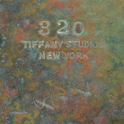 Tiffany Studios Three Light Piano Lily Tiffany Lamp