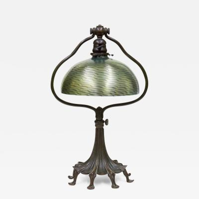 Tiffany Studios Tiffany Favrile Glass Desk Lamp