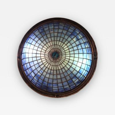 Tiffany Studios Tiffany Studios Glass Ceiling Mount Light