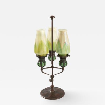Tiffany Studios Tiffany Studios New York Candle Lamp