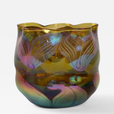 Tiffany Studios Tiffany Studios New York Glass Vase