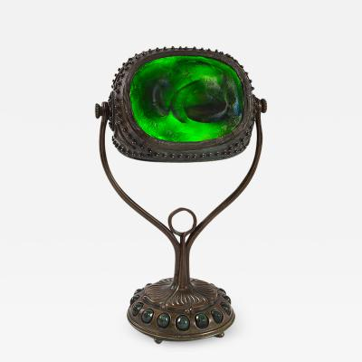 Tiffany Studios Tiffany Studios New York Turtleback Tile Desk Lamp