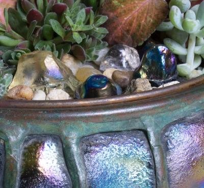 Tiffany Studios Tiffany Studios Turtleback Planter