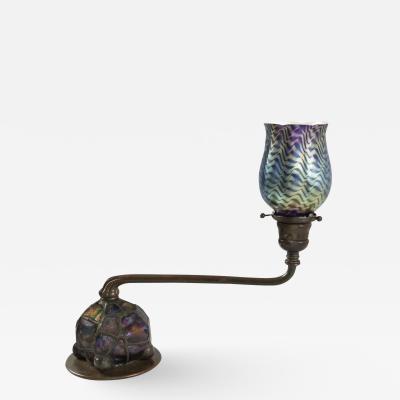 Tiffany Studios Tiffany Turtleback Ball Desk Lamp