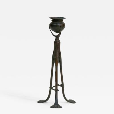 Tiffany Studios Tripod Candlestick