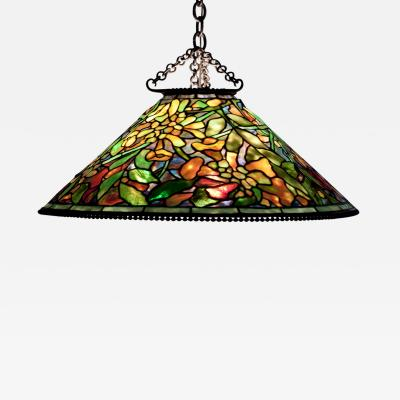 Tiffany Studios Trumpet Creeper Hanging Shade