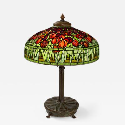 Tiffany Studios Tulip Tiffany Lamp