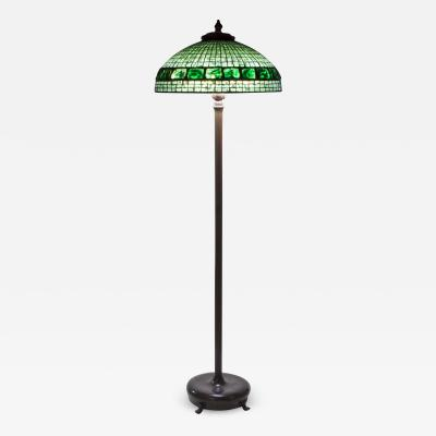 Tiffany Studios Turtle Back Tile Floor Lamp