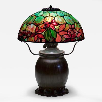 Tiffany Studios Woodbine Table Lamp