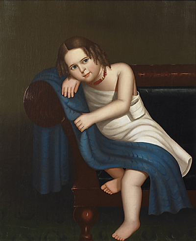 Horace Bundy American Portrait of a Young Girl