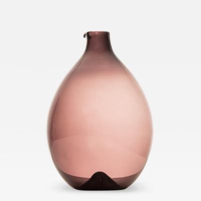 Timo Sarpaneva Bottle Vase Model Pullo Bird Vase Produced by Iittala